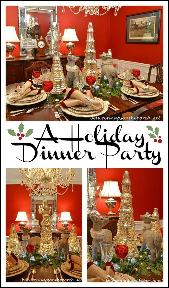 Christmas Holiday Dinner Party