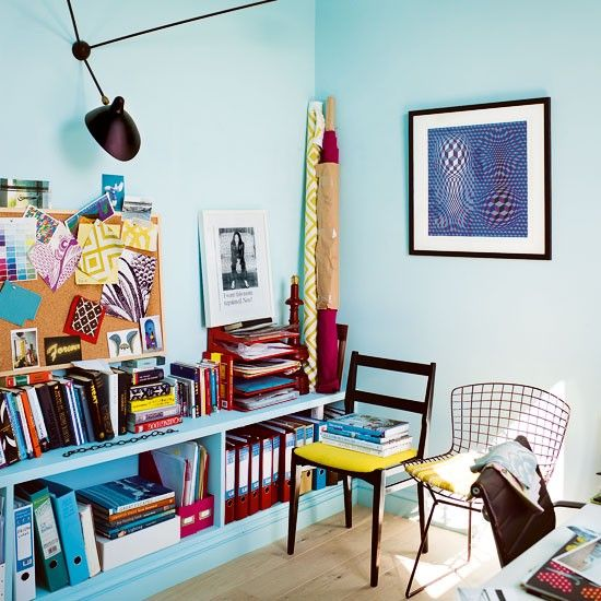 Home office via @Susanne Anthony