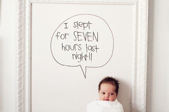 White Board Baby ? awwwww