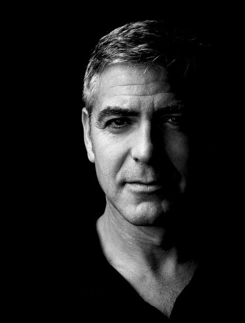 classic clean shaven / george clooney