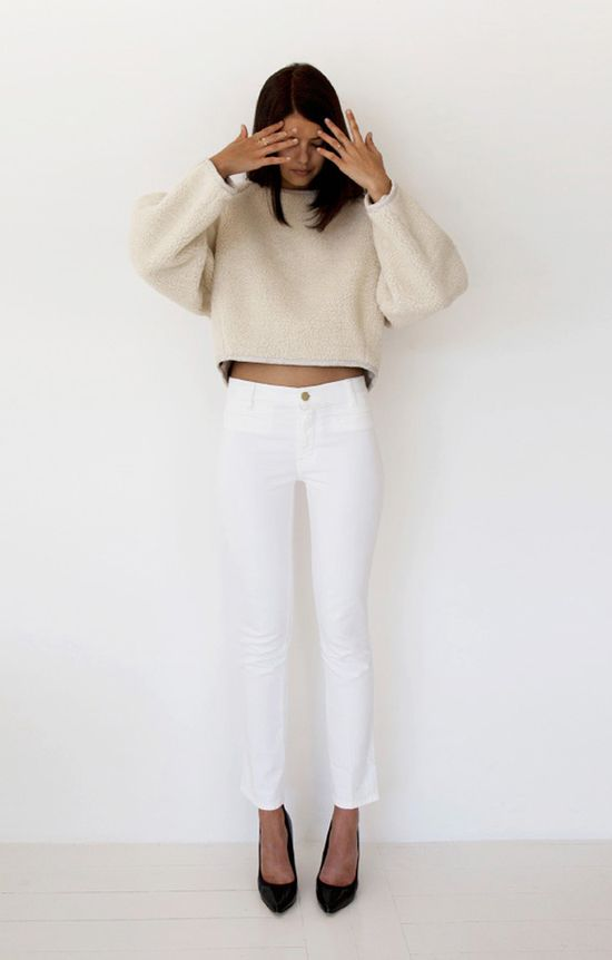 All white for summer? We think so