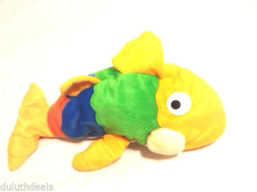 "Fiesta Gus Bean Bag Plush Multicolor 16"" Stuffed Animal"