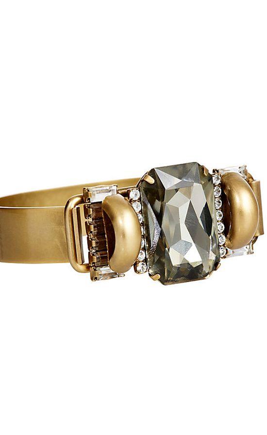 Elizabeth Cole Gold Bracelet