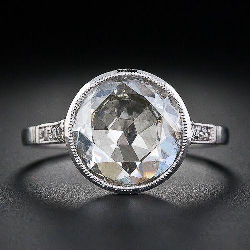 Rose Cut Antique Diamond Ring