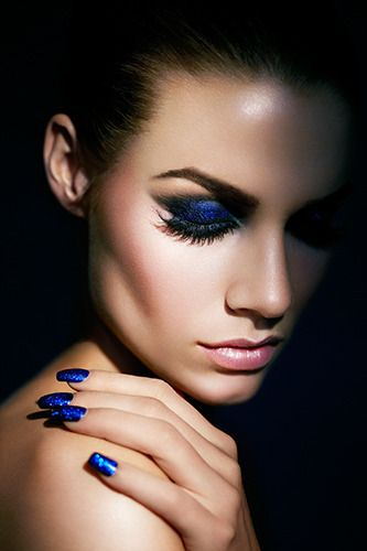 Made up blue....Not just another pretty face!