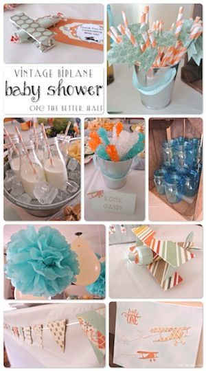 Vintage baby shower ideas. Would be cute outdoor themed shower for a more casual bbq or joint shower:)