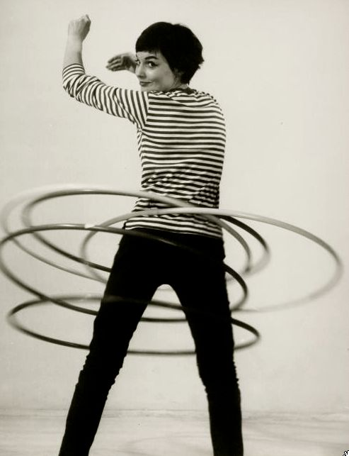 hula hoops in the 50s and 60s
