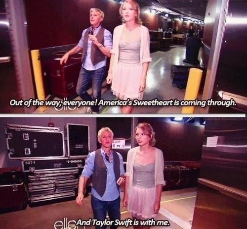 haha ohh Ellen (:
