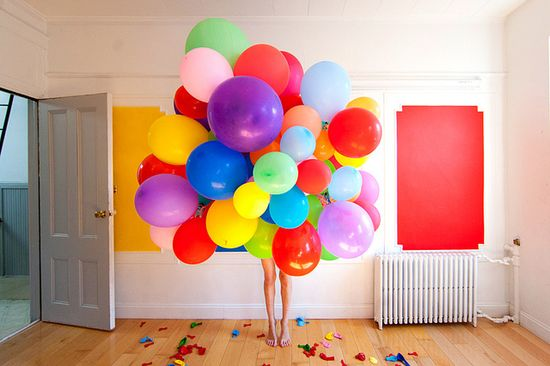 Balloons are the best.