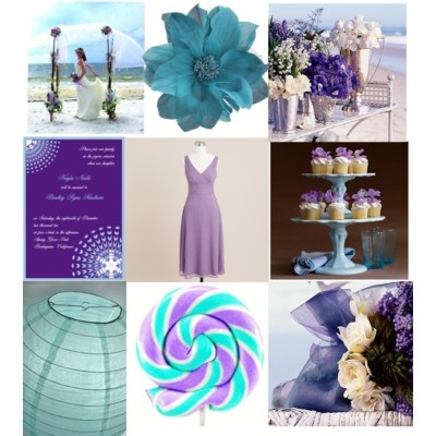 Help me find pictures for my lavender & teal inspiration board?