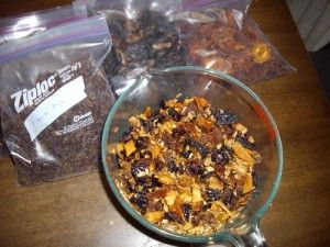 Preparing emergency food for your bug-out-bag