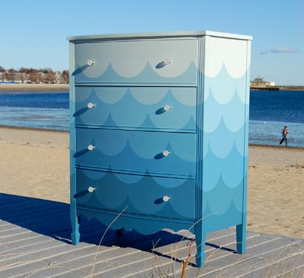 Painted dresser  #furniture