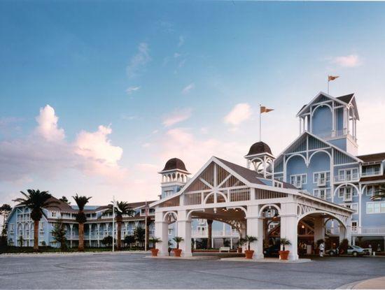 Disney's Yacht and Beach Club Resorts, The Walt Disney World Resort, Lake Buena Vista, Florida