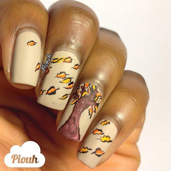 Instagram photo by piouh  #nail #nails #nailart