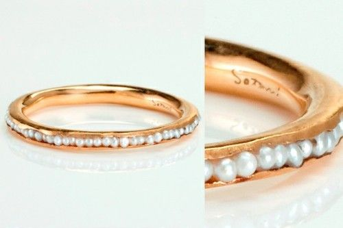 Gold and pearl.