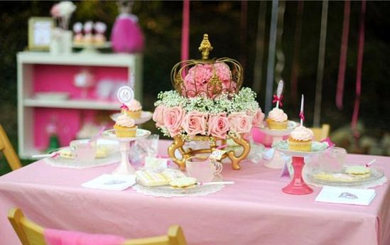 Take a look at this lovely PINK PRINCESS TEA BIRTHDAY PARTY on Kara's Party Ideas- www.KarasPartyIde...