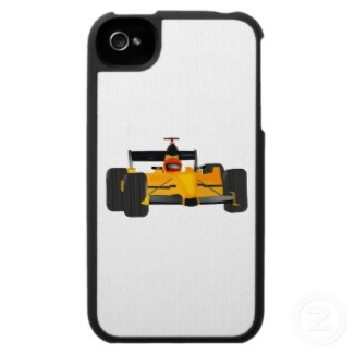 Indy race car iPhone 4 cover