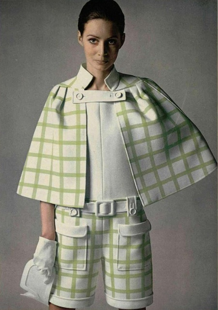 1960s Shorts and Cape set