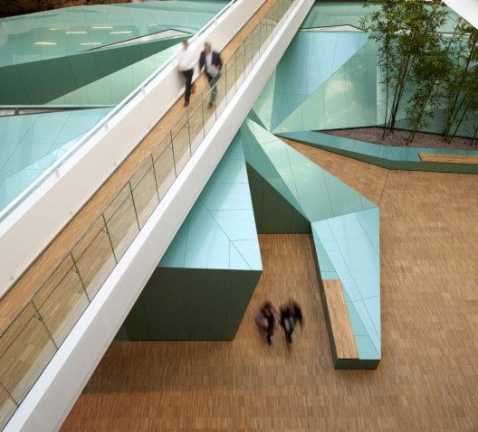Futuristic Architecture, Geometric, KPMG Headquarters, Copenhagen