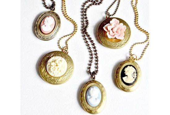 Classically beautiful lockets give off such a unique vintage feel!