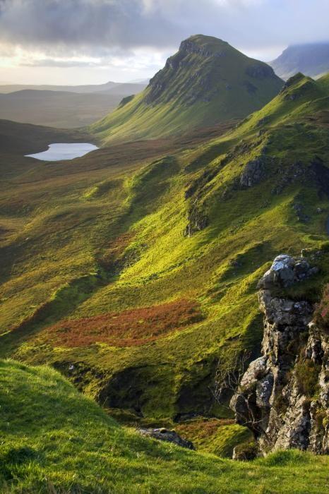 Trotternish Hills Isle of Skye Scotland.