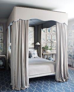 Stunning bed & room design