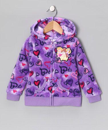 Purple Disney Princess Zip-Up Hoodie - Girls by Disney on #zulily!