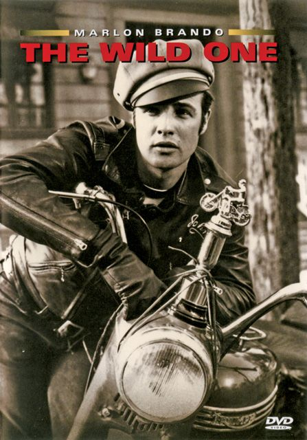 The Wild One, from a list of our top 8 favorite motorcycle movies for watching on those days you can't ride.
