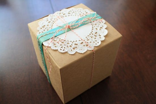 Sunshine & Carousels' gift wrapping!