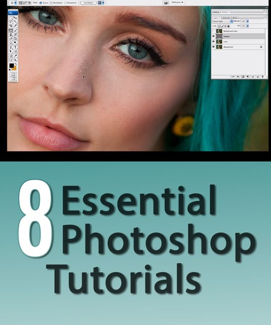 8 simple, easy-to-follow Photoshop tutorials for better photos.