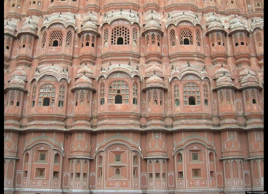 The Pink City, Jaipur, India  #Jaipur #Pink_City