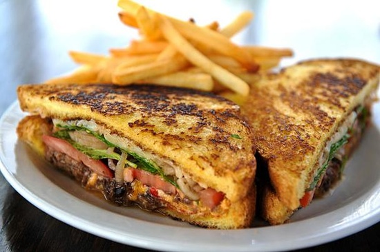 ... Grilled Cheese. (short ribs, pimento cheese, arugula, tomato, pickles