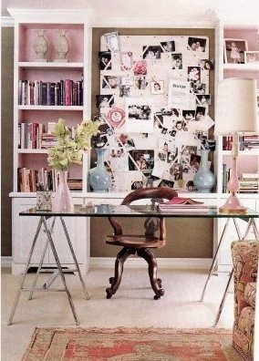 Vintage Chic Office