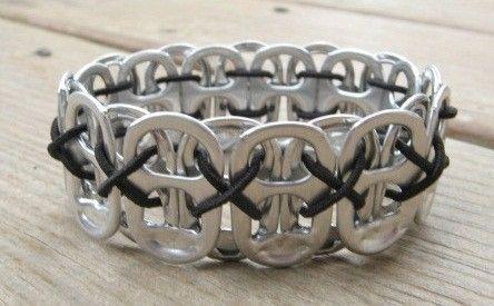 Pop tab bracelet by kaec