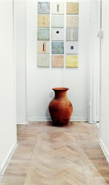 greige: interior design ideas and inspiration for the transitional home : Light Oak Wood Flooring