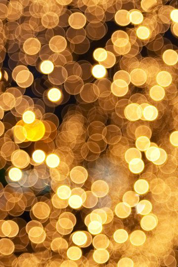 gold glitter lights