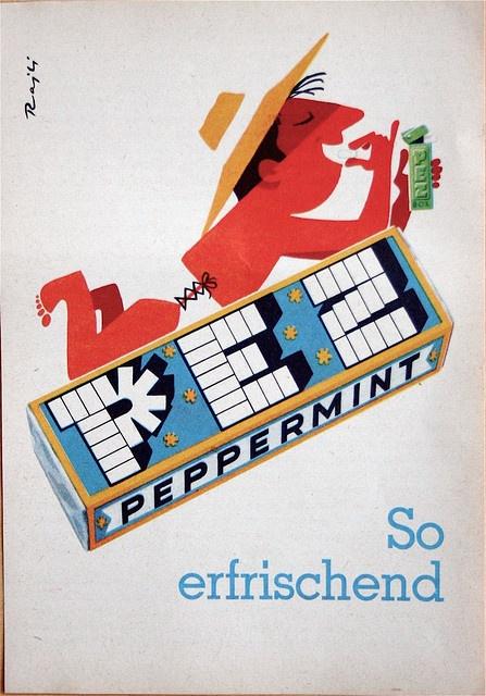 Vintage 60s Pez ad