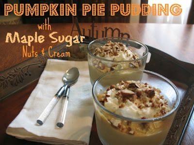 Pumpkin Pie Pudding Recipe! #dessert #recipes