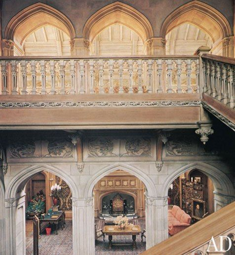 """Highclere Castle, published in the January/February 1979 issue, is now the setting of the hit show """"Downton Abbey."""""""