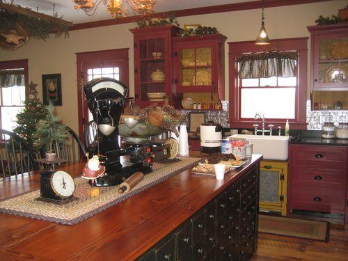 Red Prim Kitchen