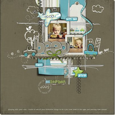 #scrapbook Layout
