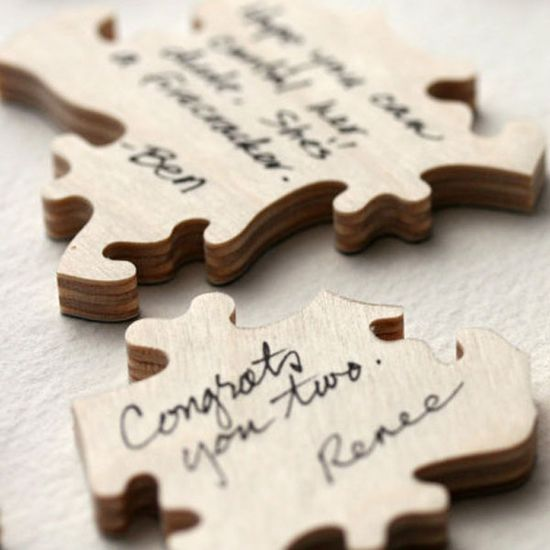 this is an amazing wedding guest book idea i want to do because then i would get to spend time with my husband putting it together after the wedding and reading all the little notes then to be able to frame it to hang on our wall for all to see