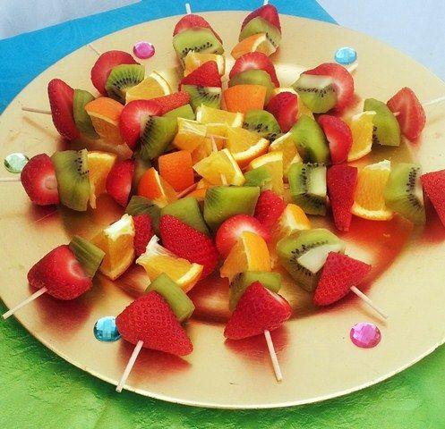 Abu's Fresh Fruit Kebabs