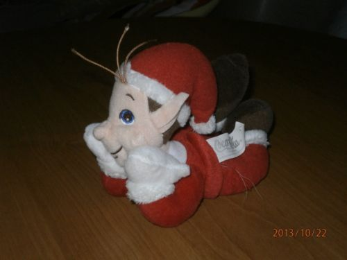Charity Item Stuffed Animal Plush Toy Kids Toy Donation Coca Cola Elf