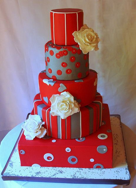 "The ""not a wedding cake"" wedding cake by Mizzbar, via Flickr"