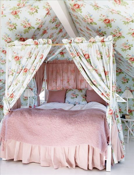 fun #shabby #bedroom