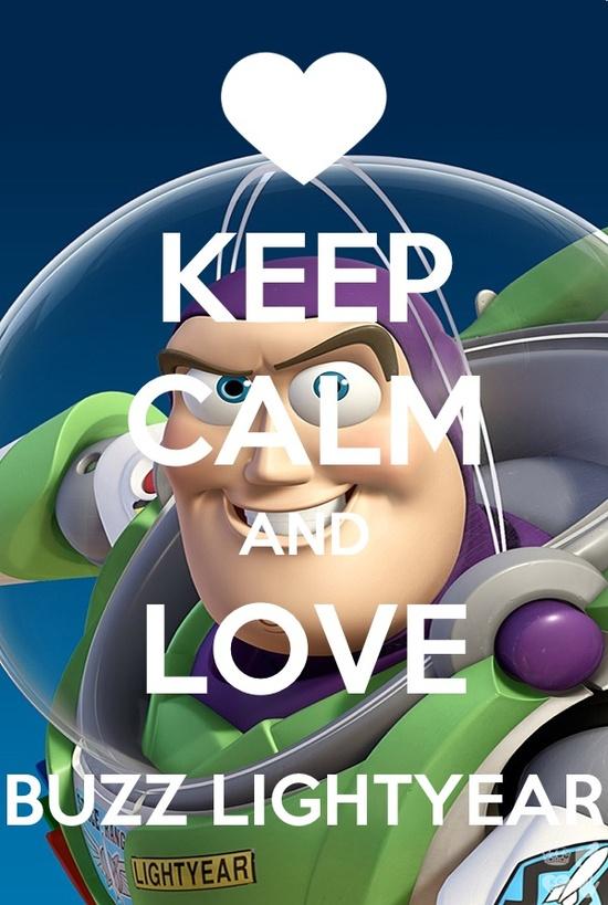 Love Buzz Lightyear:)