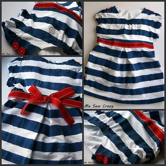 striped dress tutorial