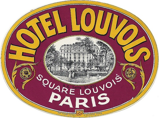 Francia - Parigi - Hotel Louvois by Luggage Labels