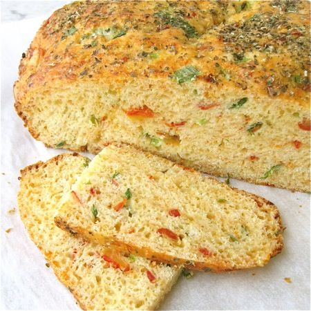 Savory Christmas Cheese Bread: step-by-step photos and tips.